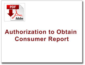 Authorization to Obtain Consumer Report thumb image